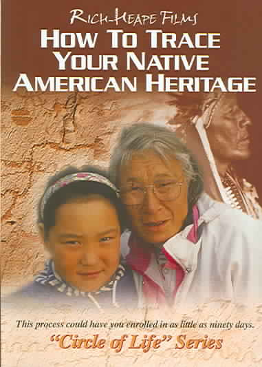 HOW TO TRACE YOUR NATIVE AMERICAN HER BY RICHIE,CHIP (DVD)